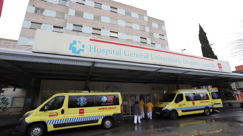 Foto: Vista exterior del Hospital General Universitario Gregorio Marañón en Madrid. (EFE)