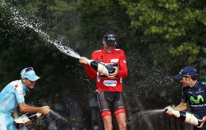 La Vuelta a España confirma la victoria de Horner: La foto final sirve