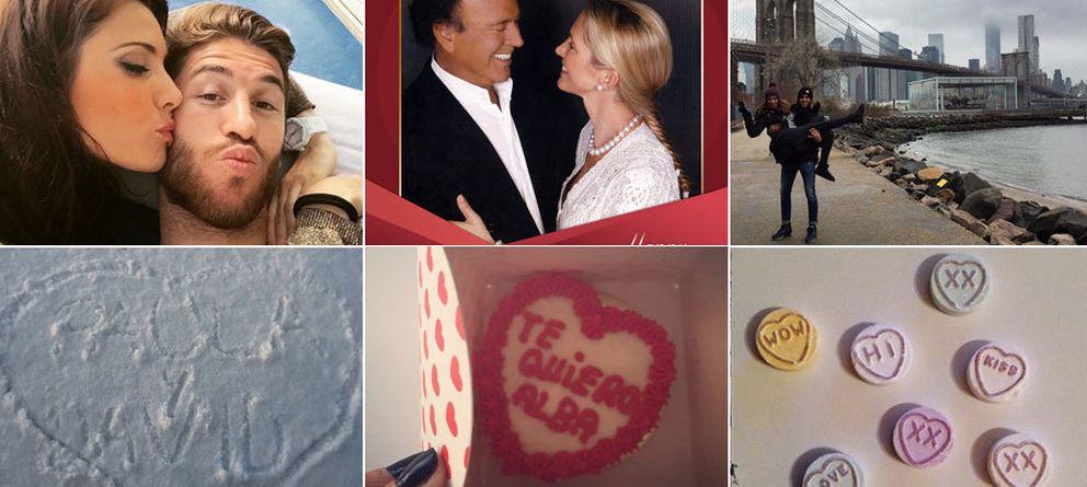 Foto: Pilar Rubio y Sergio Ramos, Julio y Miranda, Marc y Melissa y otras muestras de afecto de parejas conocidas (Redes sociales)
