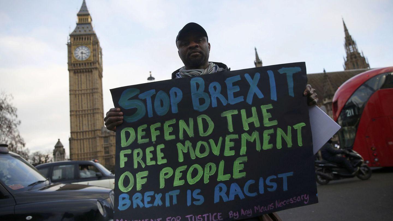 Protestas en Londres en contra del Brexit. (Reuters)