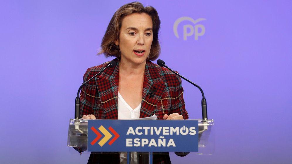 Foto: La vicesecretaria de Política Social del PP, Cuca Gamarra. (EFE)