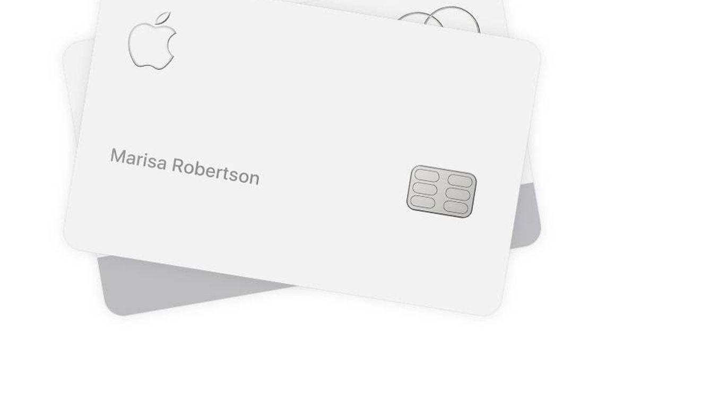 La nueva y ultrasensible Apple Card, la tarjeta de crédito que no puede tocar cuero