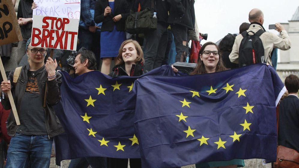 Foto: Manifestación por la permanencia de Reino Unido (Efe)
