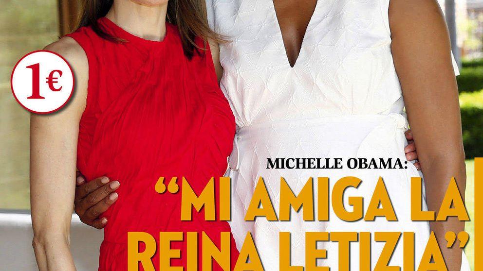 Kiosco Rosa: la Reina Letizia y Michelle Obama, un encuentro de portada