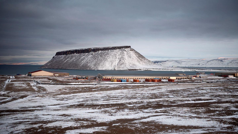 Imagen de la base norteamericana de Thule. (EFE)