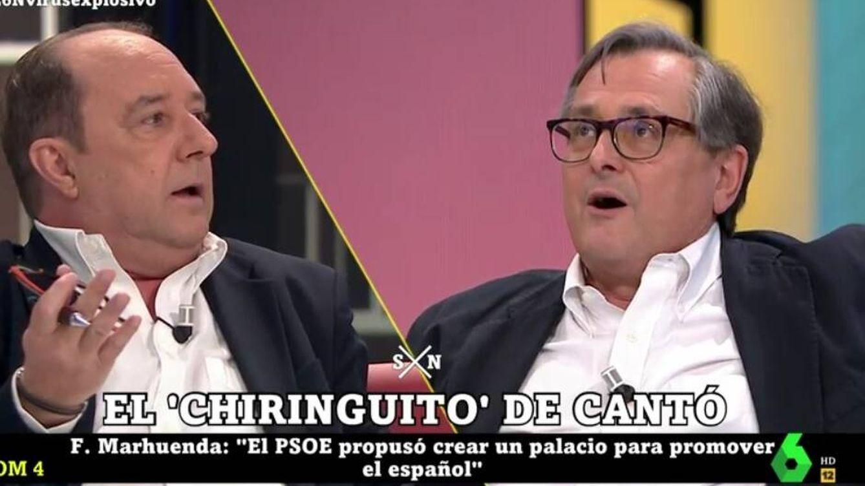 'La Sexta noche': tensión entre Marhuenda y Maraña por el chiringuito de Toni Cantó
