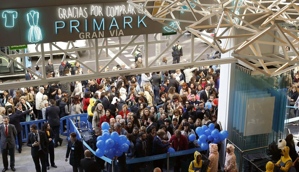 Foto: La nueva tienda Primark de la Gran Vía de Madrid. (EFE)