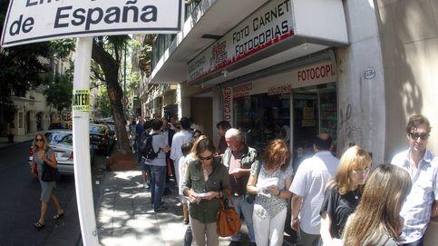 Los empleados de España exigen un aumento del 50%... en Argentina