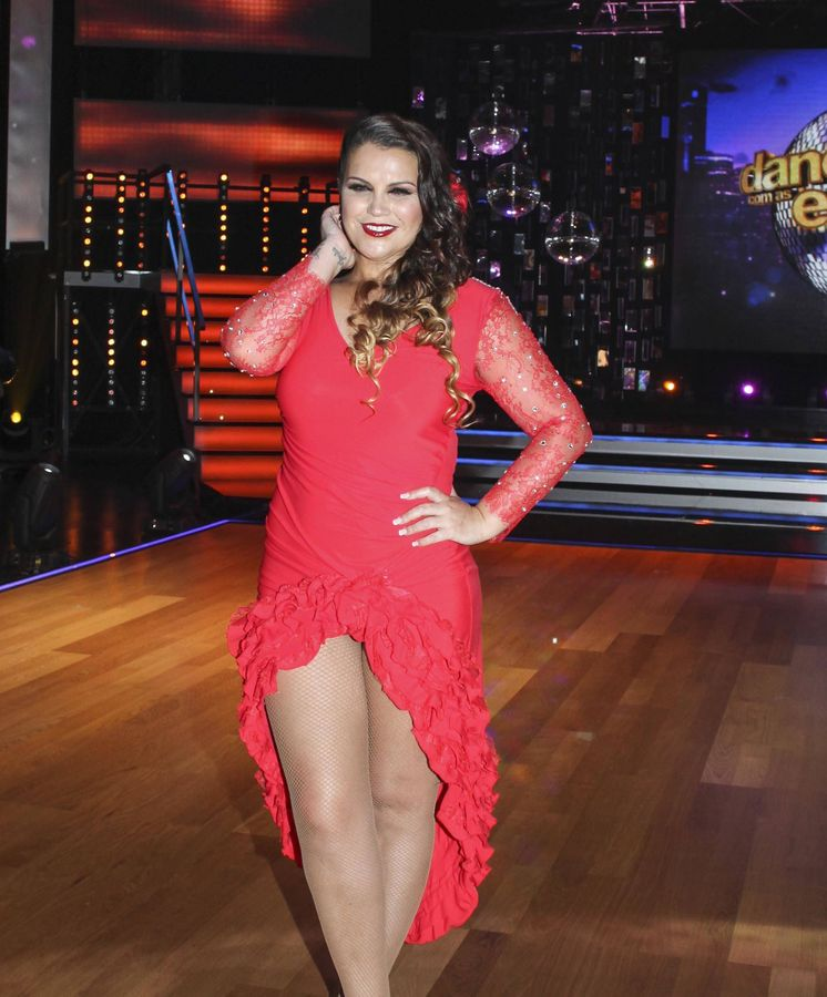 Foto: Katia Aveiro en 'Dancing with the Stars'. (Gtres)