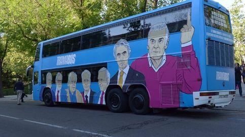 Así es el 'Tramabús', el autobús de Podemos contra la mafia y la corrupción de las élites