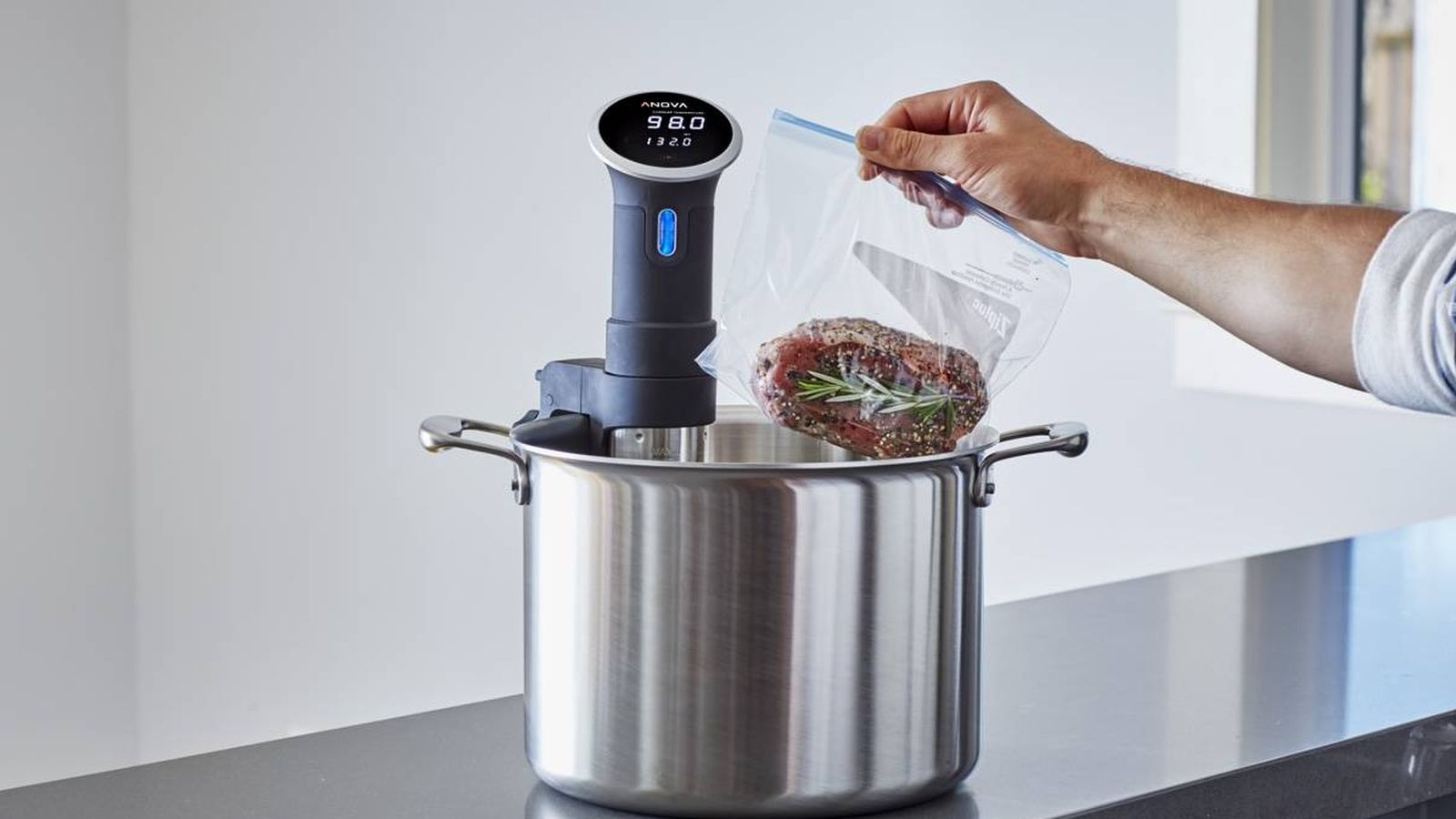 Foto: Cocinar a baja temperatura.