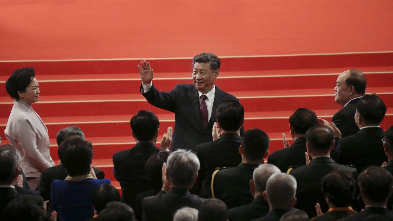 El presidente de China, Xi Jinping, en un acto en Macao. (Reuters)