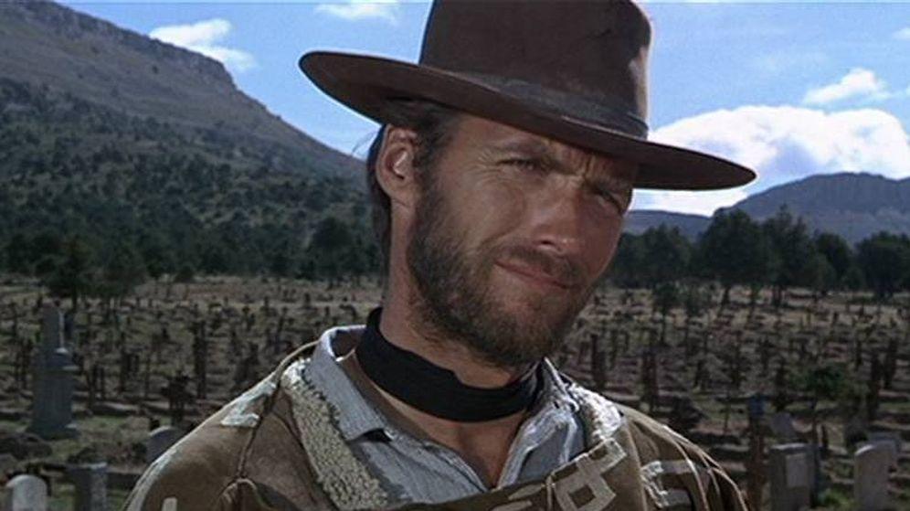 Foto: Clint Eastwood en 'El bueno, el feo y el malo'.
