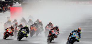 Post de La última carrera de Pedrosa fue un caos y terminó con victoria de Dovizioso