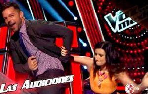 Los azotes de Laura Pausini a Ricky Martin