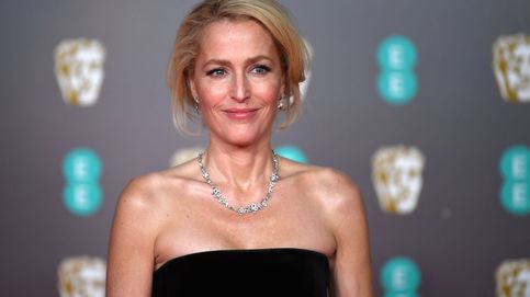 Gillian Anderson agradece el Globo de Oro a su marido entre rumores de reconciliación