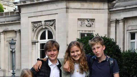 La vuelta a clase de los royals: Ariane de Holanda y Gabriel de Bélgica estrenan cole