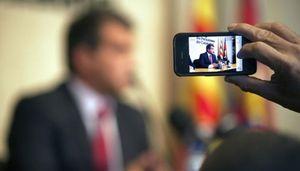 Un juzgado de Barcelona abre diligencias contra Joan Laporta por blanqueo de dinero