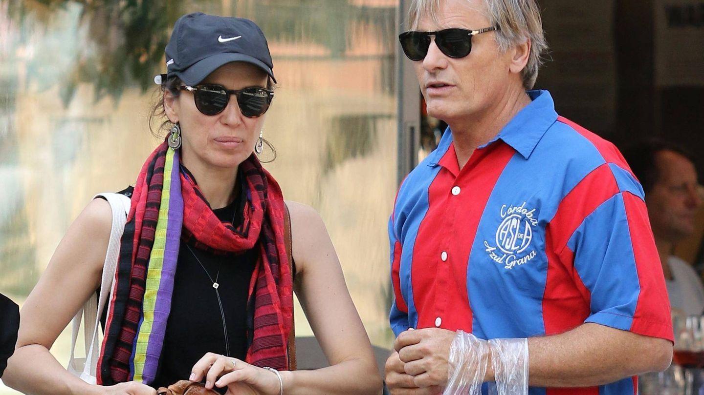 Viggo Mortensen y Ariadna Gil, en una imagen de archivo. (Cordon Press)