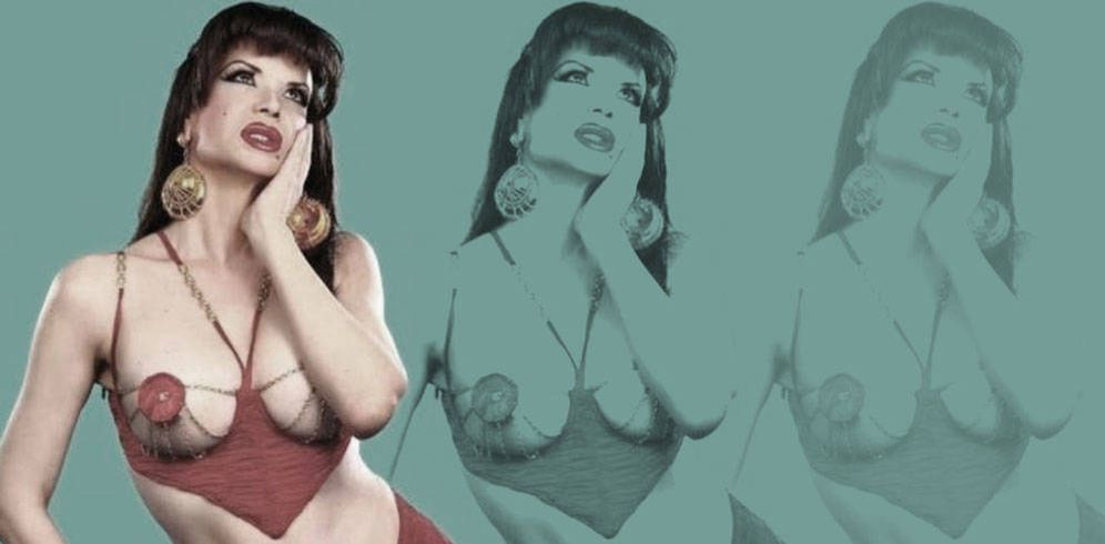 Foto: La Veneno en un fotomontaje de Vanitatis