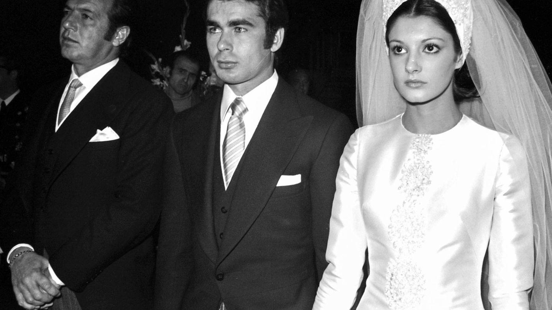 Uno de los días más importantes de su vida: su boda con Paquirri. (Getty)