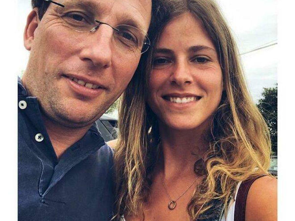 Foto: Almeida y Beatriz Fanjul en la foto publicada por la bilbaína en Instagram. (IG)
