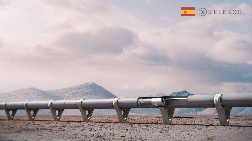 Foto: Zeleros proyecta construir una pista-tubo a escala en Parc Sagunt para probar el vehículo 'hyperloop'.