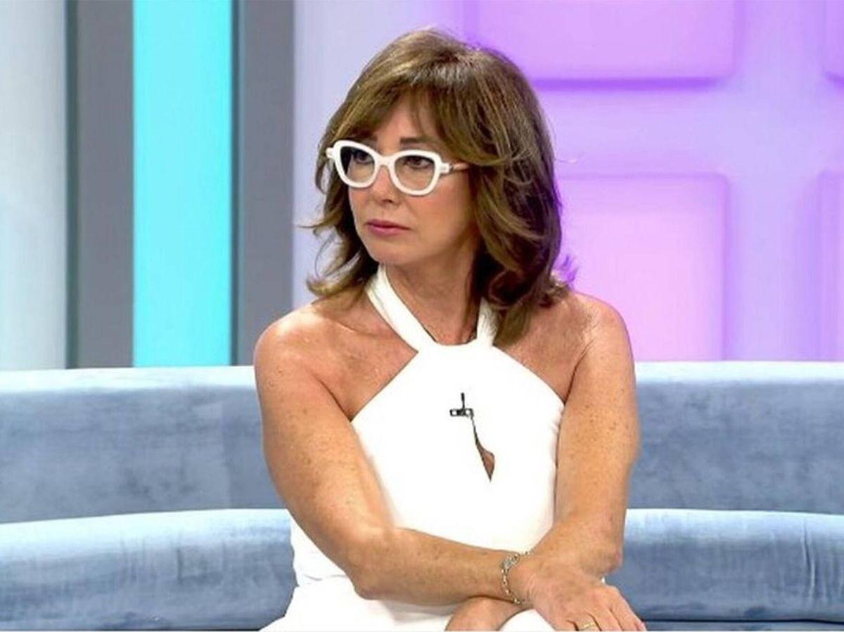 Foto: Ana Rosa Quintana, en su primer día en el programa, tras las vacaciones. (Mediaset)