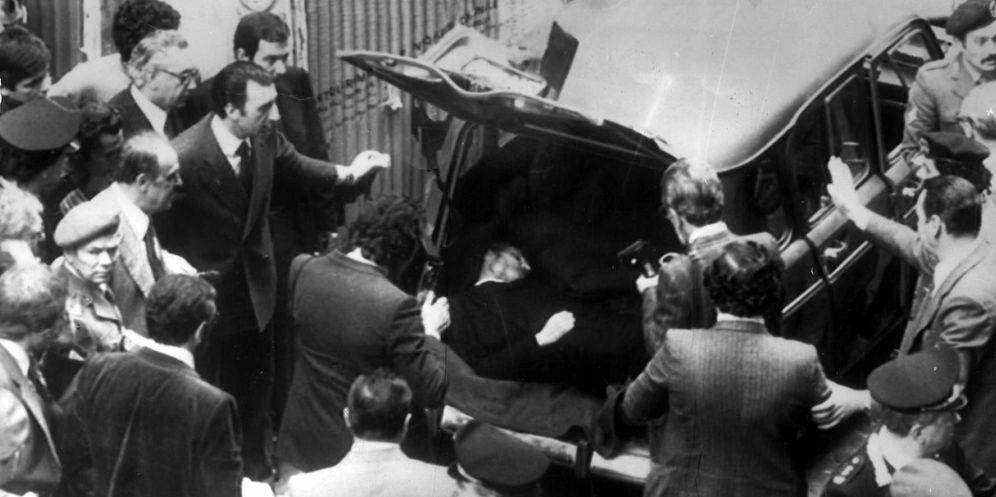 Foto: El cadáver de Aldo Moro apareció en un maletero (EFE)