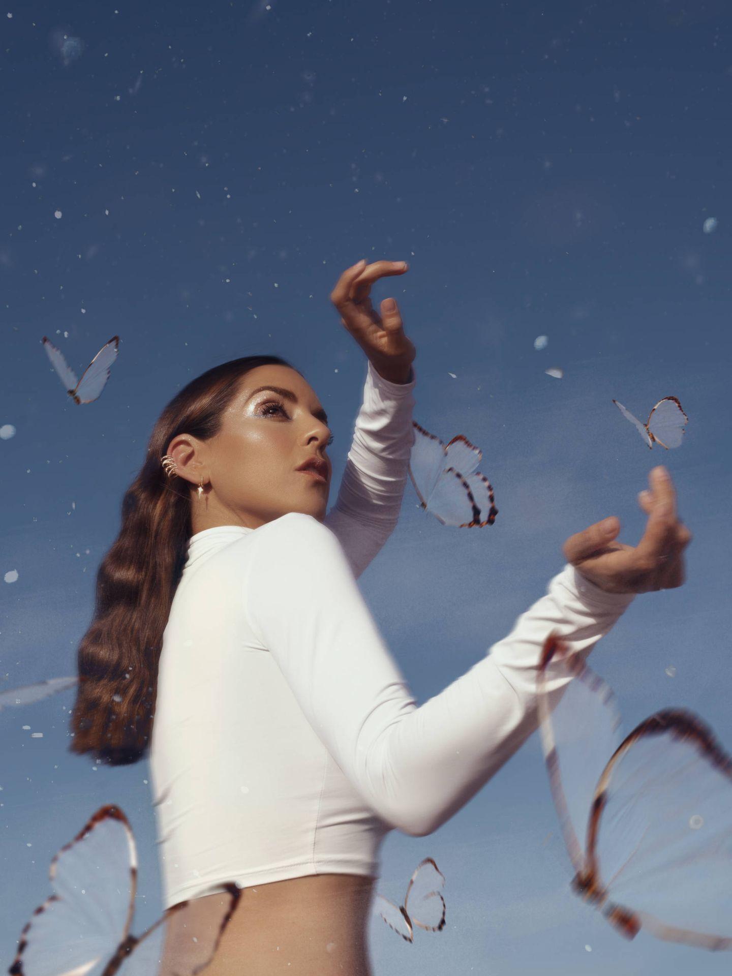 La cantante murciana comienza una nueva etapa con este nuevo disco que está preparando. (Cortesía Ruth Lorenzo)