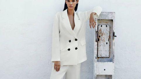 De tu boda al trabajo: cuatro trajes de chaqueta blancos low cost