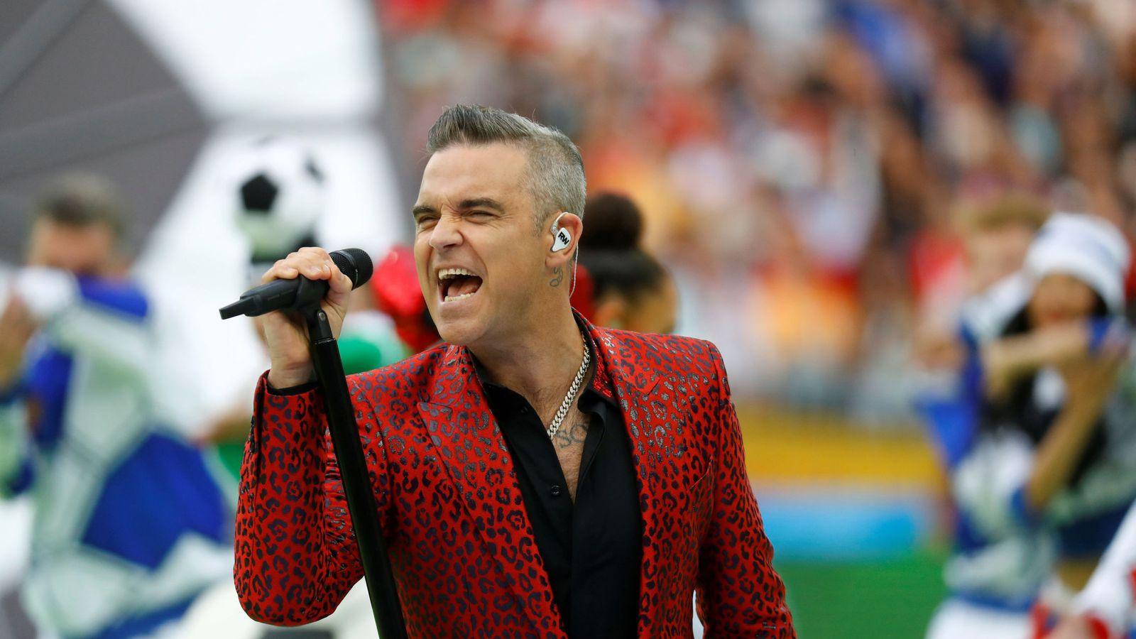 Foto: Robbie Williams en una imagen de archivo. (Reuters)