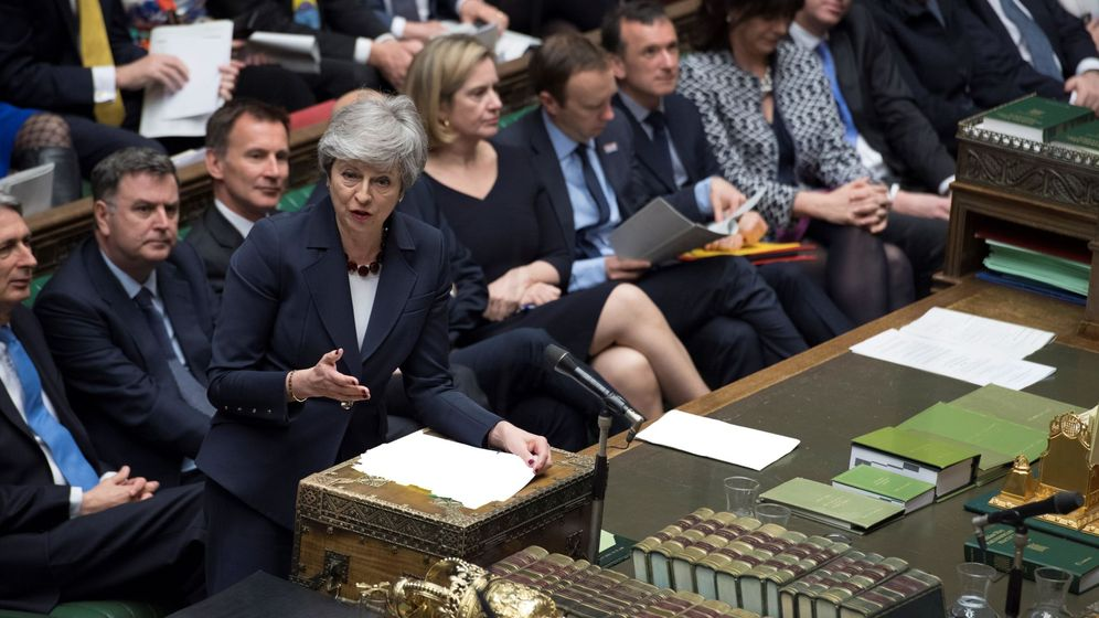 Foto: Theresa May. (EFE)