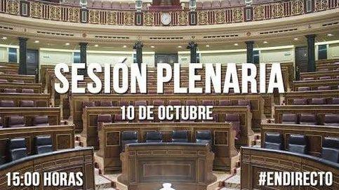 Siga la sesión plenaria en el Congreso