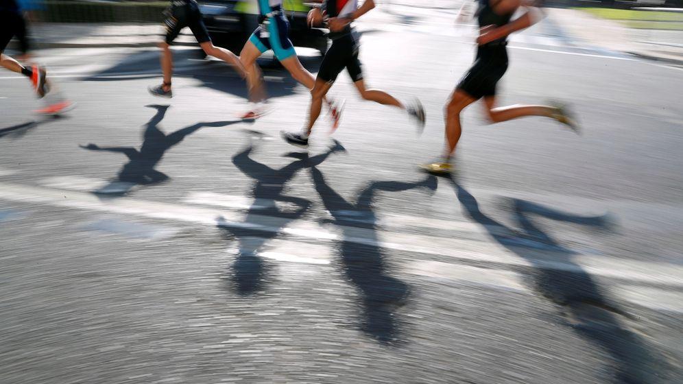 Foto: Atletas en un Ironman. (Reuters)