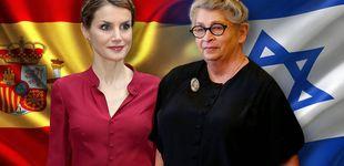 Post de Letizia recibe a Nechama Rivlin, la mujer a la que Melania Trump tendió la mano