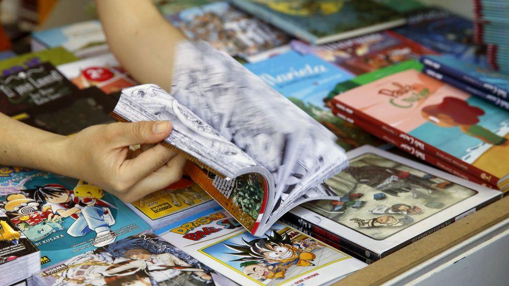 Foto: Imagen de archivo de la Feria del Libro de Madrid de 2016 (EFE)