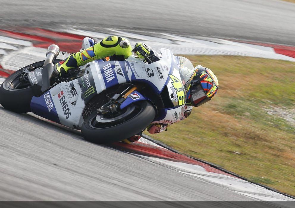 Foto: Valentino Rossi en los test de Sepang del pasado mes de febrero (MotoGP).