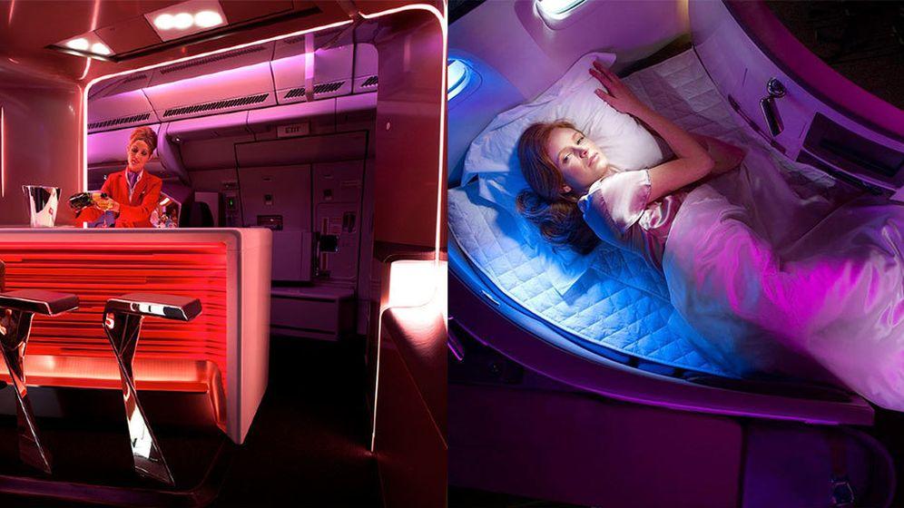 Foto: Aerolíneas de lujo: cuando volar es mejor que el destino