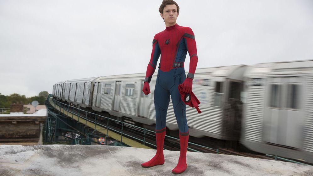 Foto: Imagen de la película 'Spiderman: Homecoming', con Tom Holland como protagonista. (EFE)