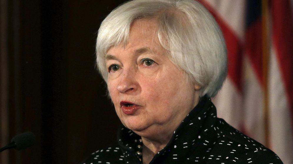 Foto: Janet Yellen, presidenta de la Reserva Federal, es la segunda mujer de la lista. (Reuters)