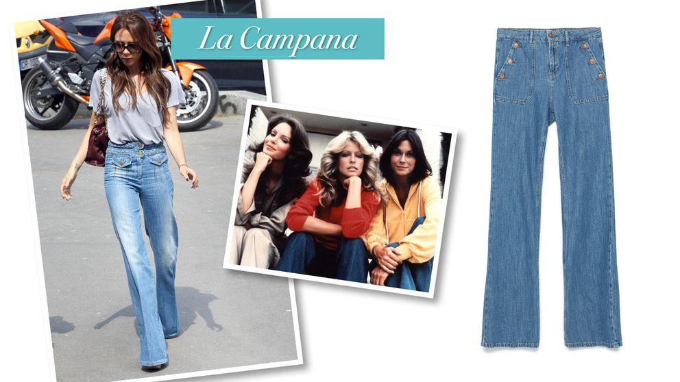 Nieves Álvarez y Victoria Beckham lo saben: de la blusa 'boho' a los pantalones de campana, cinco formas fáciles de llevar los 70 a tu armario