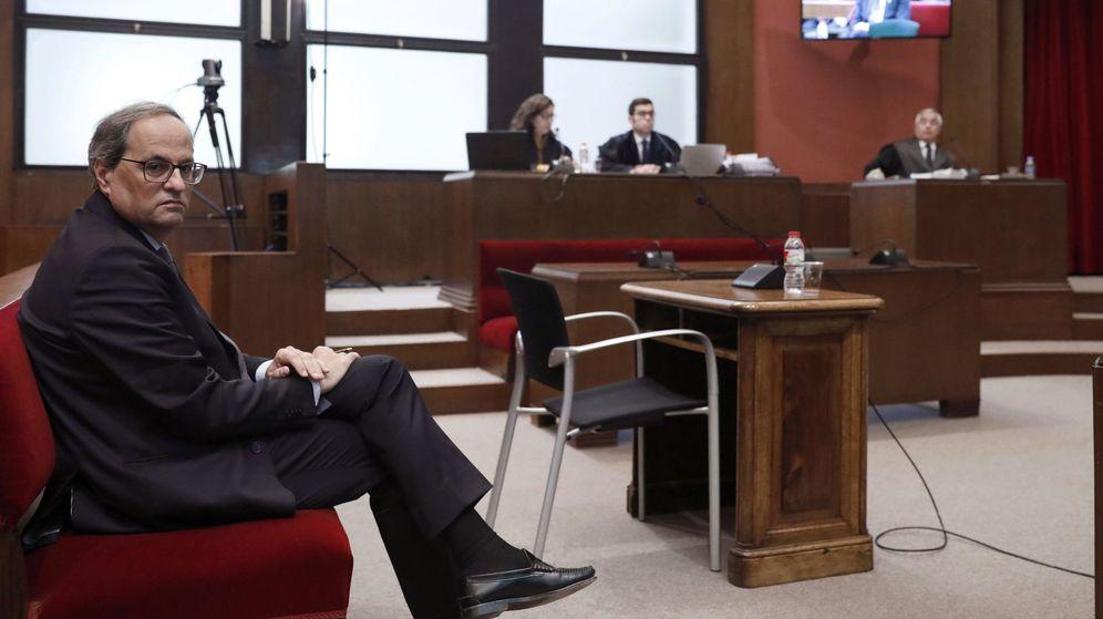 Foto: El juicio a Quim Torra. (EFE)