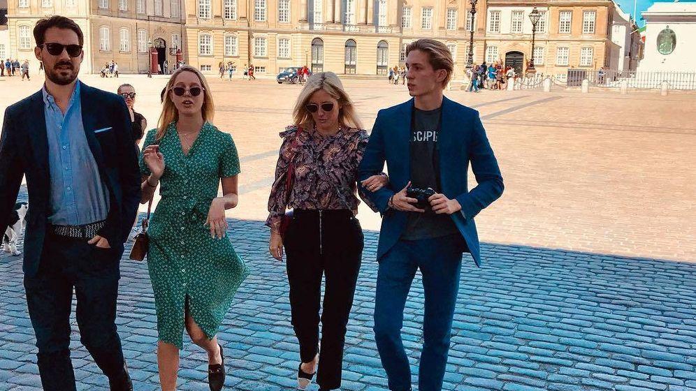 Foto:  Marie-Chantal, paseando por el centro de la capital danesa. (IG)