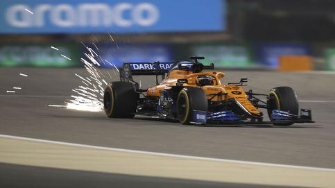 Fórmula 1: pole de Hamilton y una avería del McLaren deja a Carlos Sainz 15º en Baréin