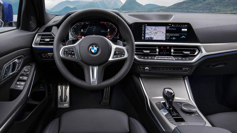 Interior del nuevo BMW Serie 3 más tecnológico.