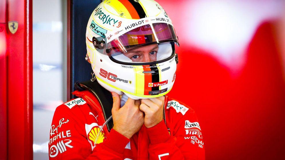 Foto: Sebastian Vettel en el reciente GP de Australia. (EFE)