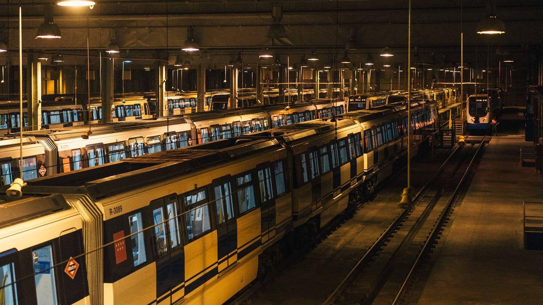 Cocheras de Metro de Madrid. (P.L.Learte)