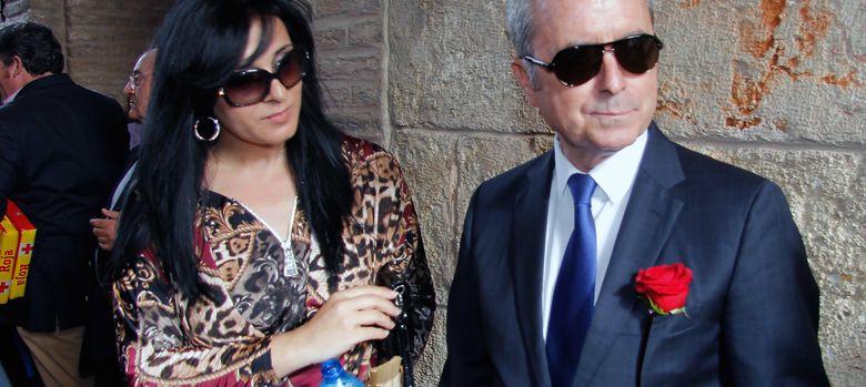 Foto: José Ortega Cano junto a su nueva pareja, Ana María Aldón, en una imagen de archivo (I.C.)