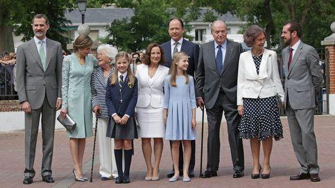 Todas las fotos de la familia real en la comunión de la infanta Sofía